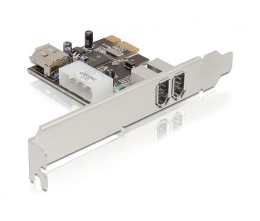 I/O DELOCK PCI-E -> 2x FireWire A (89121)