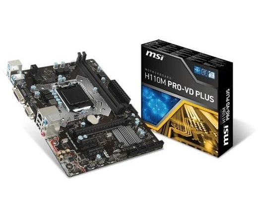 MBO MSI H110M Pro-VD Plus