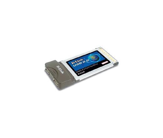 D-LINK DUB-C2 USB 2.0 Cardbus Adapter