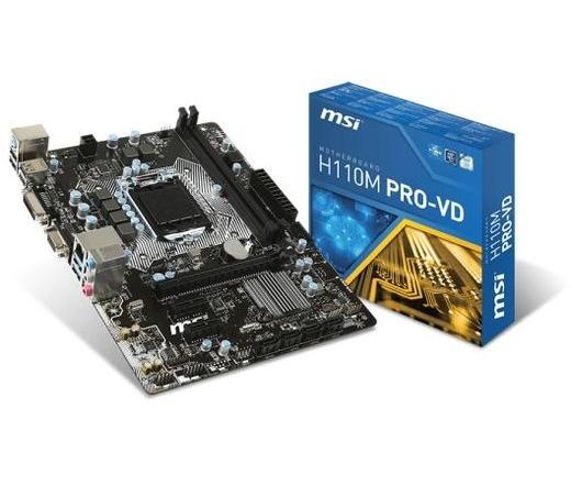 MBO MSI H110M Pro-VD