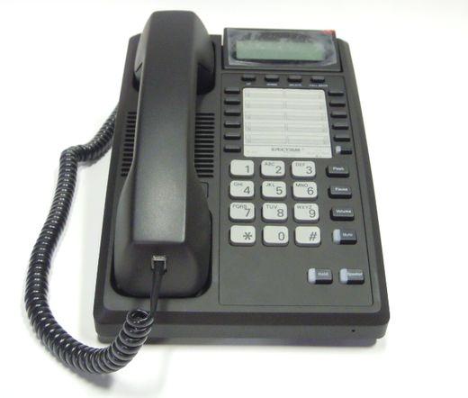 Telematrix TMX1105 Analog telefon Fekete