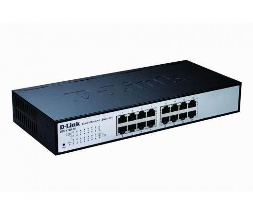 NET D-LINK DES-1100-16 16x100Mbps Switch EasySmart
