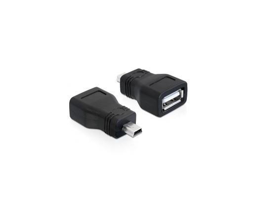 DELOCK Adapter USB 2.0-A female -> mini USB male (65277)