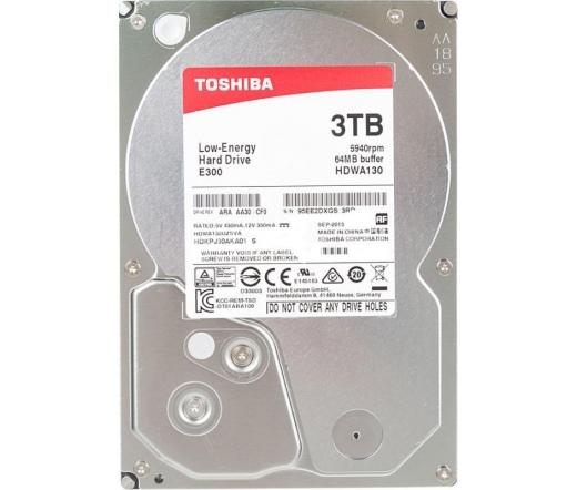 HDD TOSHIBA 3TB 7200RPM 64MB E300