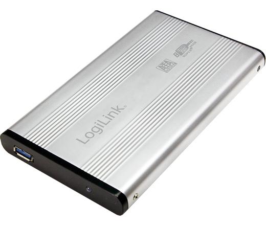 """MOBIL RACK LogiLink 2.5"""" SATA2 USB3.0 külső ház aluminium"""