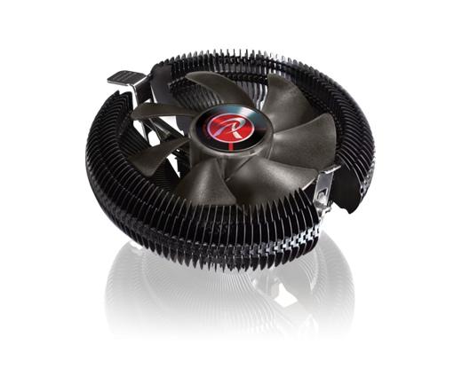 COOLER RAIJINTEK Juno-X processzorhűtő fekete
