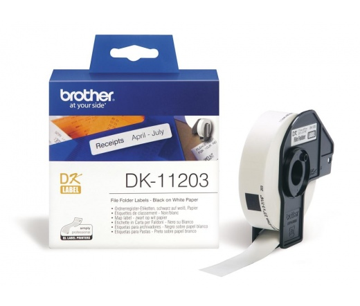 BROTHER P-touch DK-11203 címke