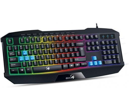 GENIUS Keyboard Scorpion K215 USB Fekete Magyar