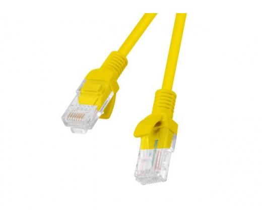 VCOM kábel Utp Cat6 Patch 0.5M, Sárga