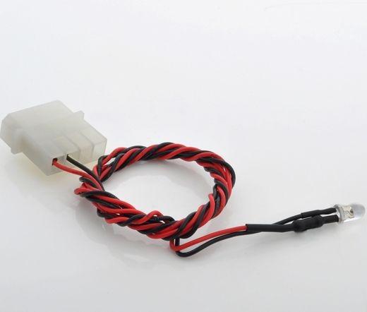 BITSPOWER 4-PIN Wired LED 5MM - UV