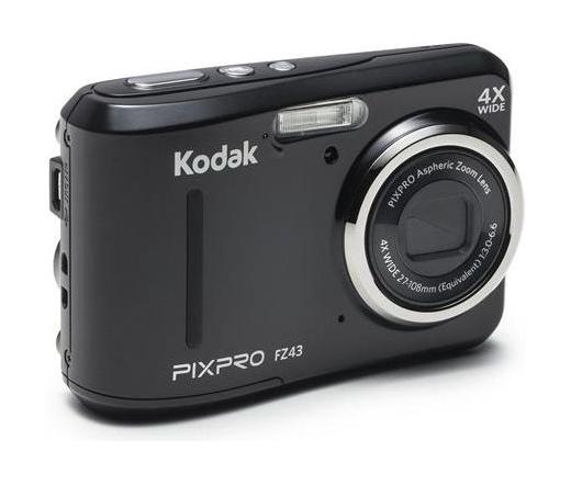 Kodak PixPro FZ43 black/fekete digitális fényképezőgép