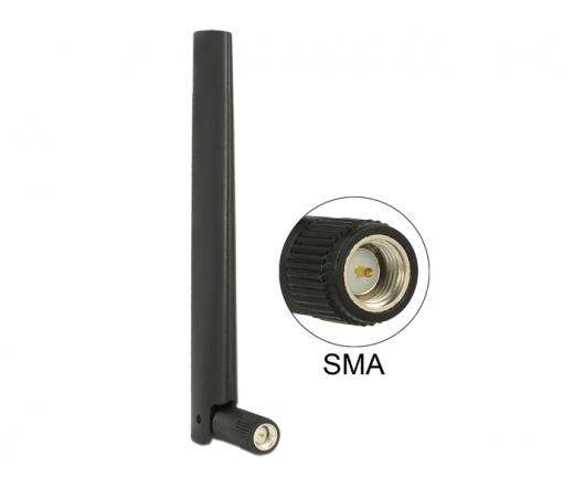 Delock ZigBee Antenna Multi Bluetooth, GSM, LTE, UMTS, WLAN IEEE 802.11 b/g/n SMA 1 ~ 4.3 dBi (88968)