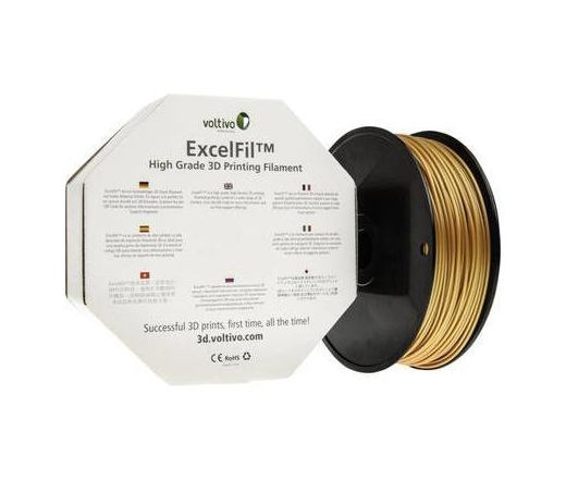Voltivo ExcelFil 3D ABS 3mm gold