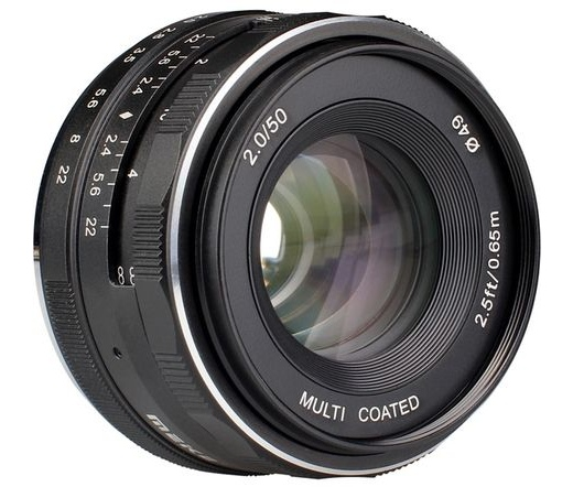 MEIKE / ALPHA DIGITAL Lens Meike MK-50 F2.0 Canon EF-M mount