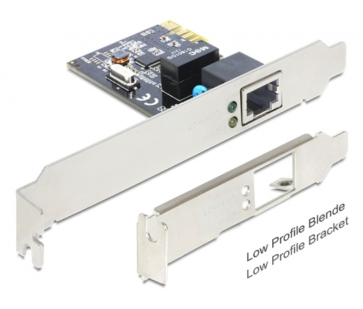 NET DELOCK PCI-E Gigabit LAN adapter (89357)