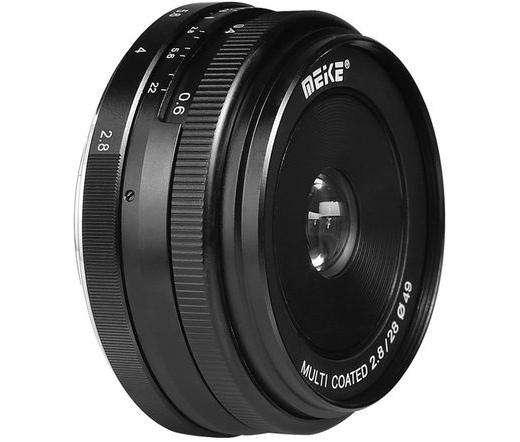 MEIKE / ALPHA DIGITAL Lens Meike MK-28mm F2.8 Micro Four Thirds mount