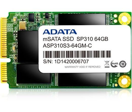 SSD mSATA ADATA 64GB SP310 Premier Pro Series
