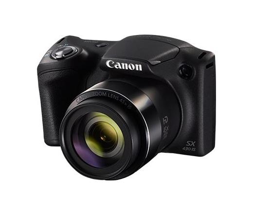 CANON PowerShot SX430 IS Fekete