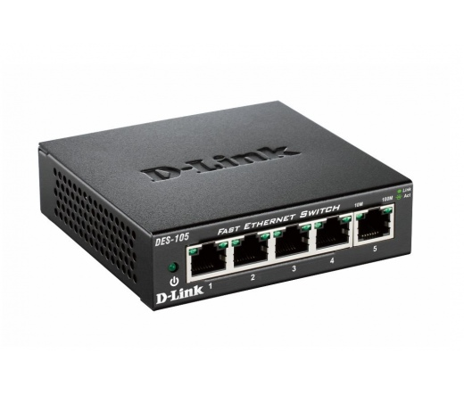 NET D-LINK DES-105 5x100Mbps Switch
