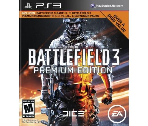 GAME PS3 Battlefield 3 PREMIUM EDITION