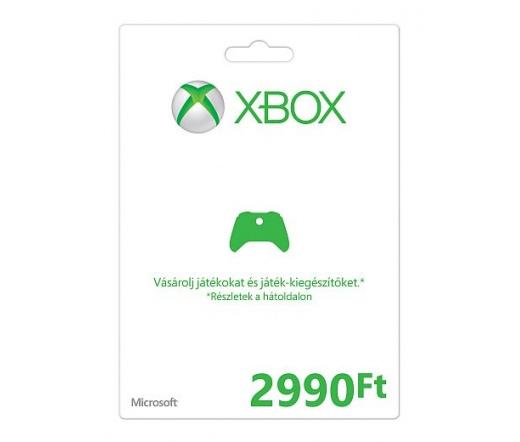 MS XBOX Live Feltöltőkártya 2990 Ft