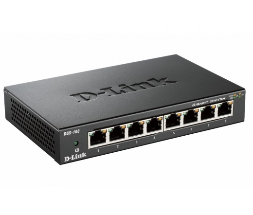 NET D-LINK DGS-108 8x1000Mbps switch