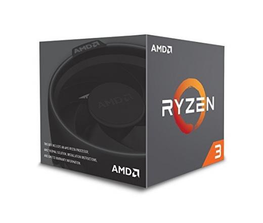 CPU AMD Ryzen 3 1200 AM4 BOX Wrait Spire