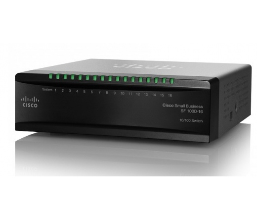 NET CISCO SF100D-16 10/100 DESKTOP SWITCH 16-Port