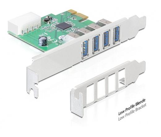 DELOCK PCI Express -> 4 x USB 3.0 (89316)