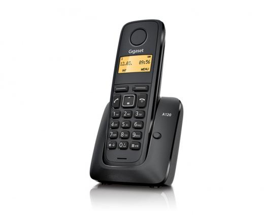 TEL GIGASET ECO DECT Telefon A120 Black