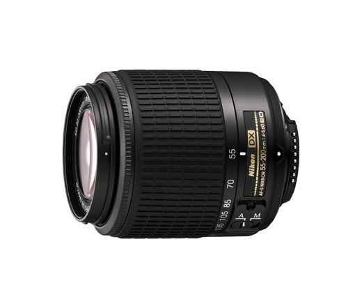 NIKON 55-200mm f/4-5.6 G AF-S DX IF ED FEKETE