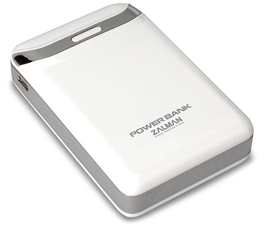 Zalman Power Bank - Lithium-ion - 8400mA Fehér