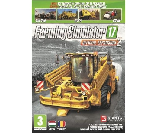 GAME PC Farming Simulator 2017 - Official Expansion 2