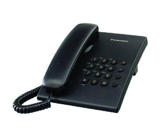 TEL PANASONIC KX-TS500HGB Dect telefon Fekete
