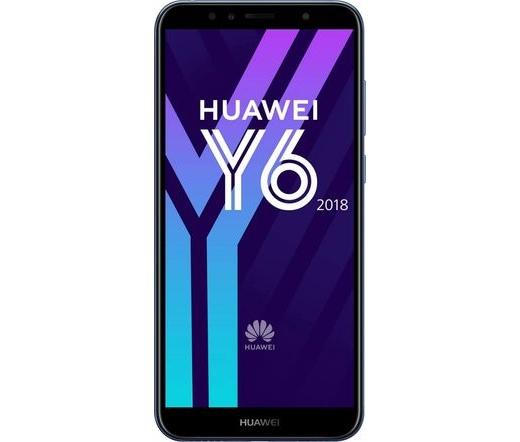 TEL HUAWEI Y6 (2018) 16GB DS kék