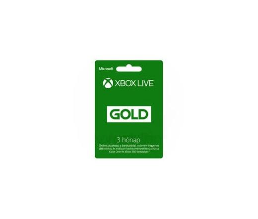 GAME XBOX Live Gold 3 Hónap (slim csomagolás)