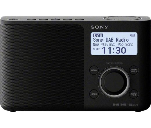 Sony XDR-S61D (Fekete) DAB rádió
