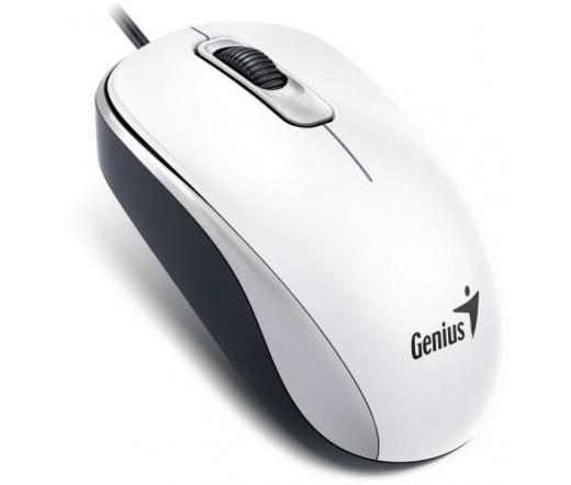 GENIUS MOUSE DX-110 USB Fehér (31010116109)