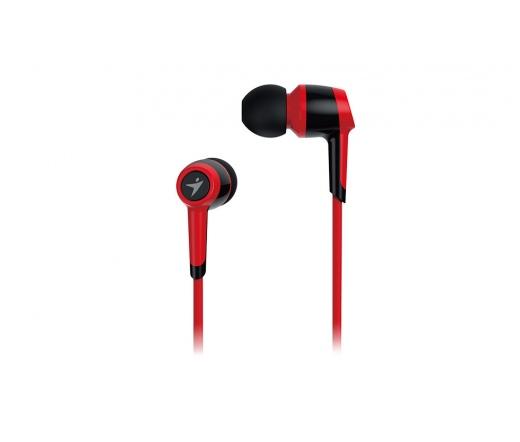 GENIUS Headphone HS-M225 Headset Piros