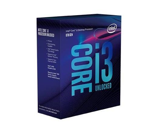 INTEL Core i3-8350K 4,0GHz 8MB LGA1151 BOX