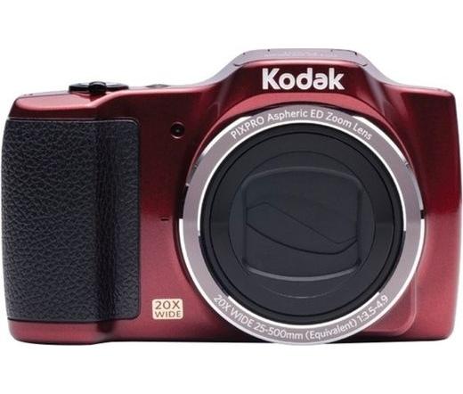 Kodak PixPro FZ201 red/piros digitális fényképezőgép