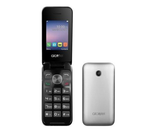 TEL ALCATEL OT-2051D Metal Silver DS