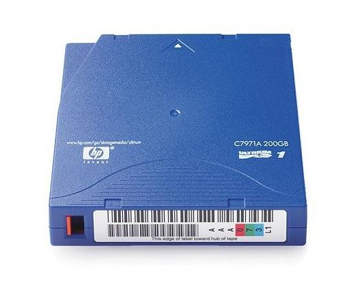 HP ADATKAZETTA LTO1 ULTRIUM 200GB LTO (C7971A)