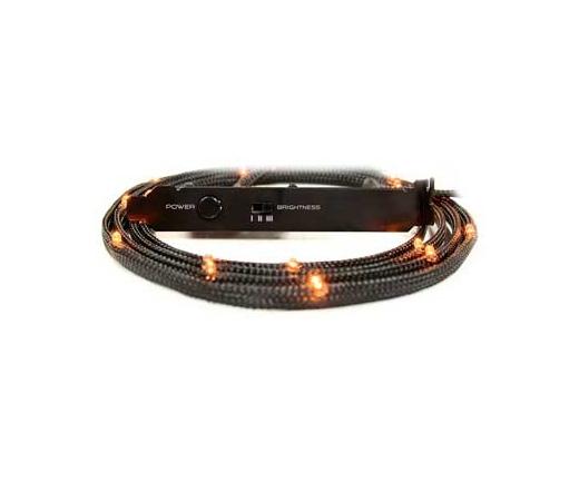 NZXT CB-LED10-OR 12x Narancs LED Sleeve - 1m