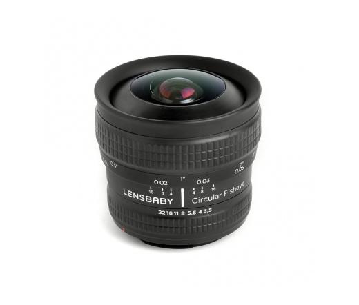 LENSBABY Circular Fisheye 5.8mm f/3.5 (Nikon F)