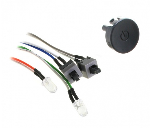 LIAN LI PT-SK03B Power / Reset Button Kit