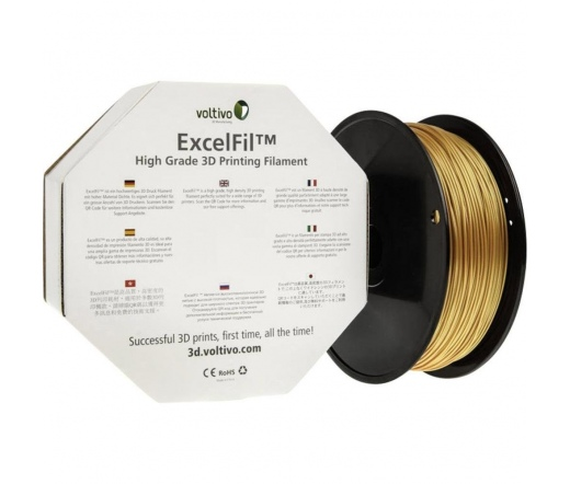 Voltivo ExcelFil 3D ABS 1,75mm gold