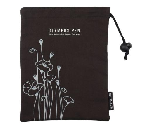 OLYMPUS PEN virágos táska