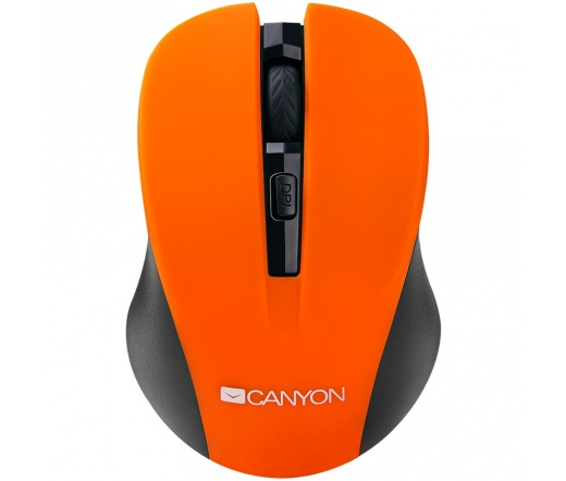 CANYON MOUSE CNE-CMSW1O Fekete-Narancs