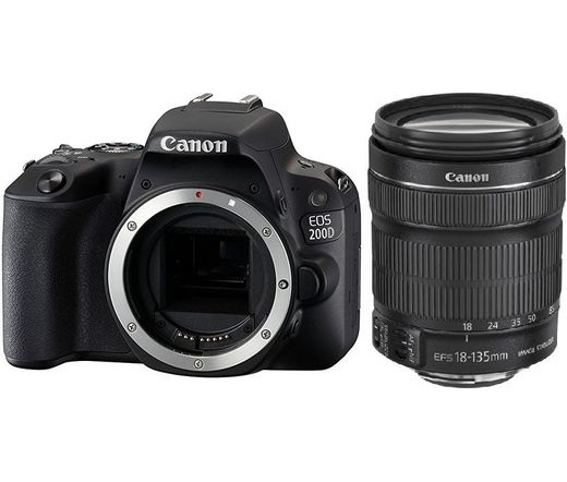 CANON EOS 200D + EF-S 18-135mm f/3.5-5.6 IS STM kit
